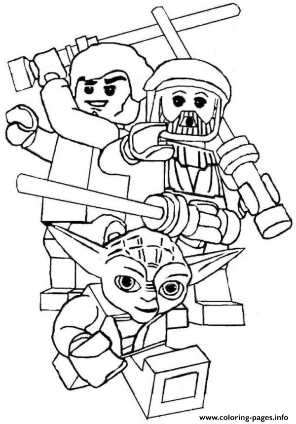 star wars printable lego coloring pages printable