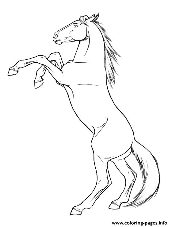 horse coloring pages # 19