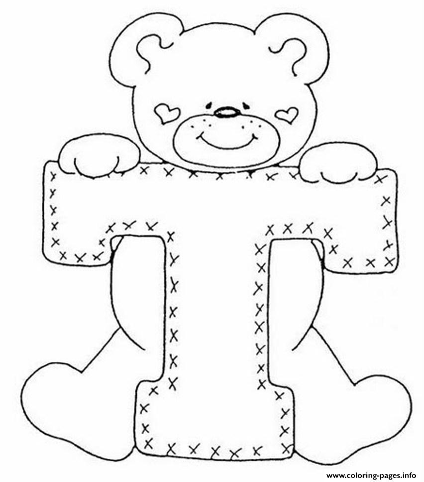 Gingerbread Bear Book Print