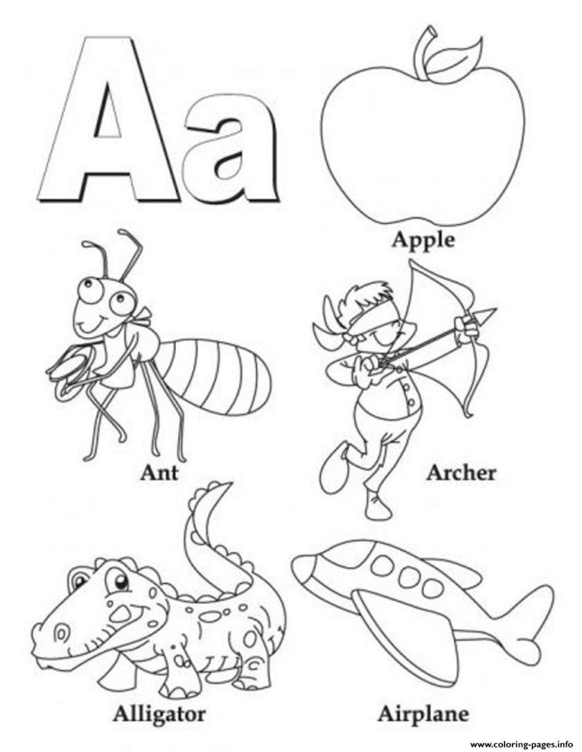 alphabet s b wordsf2f9 coloring pages printable