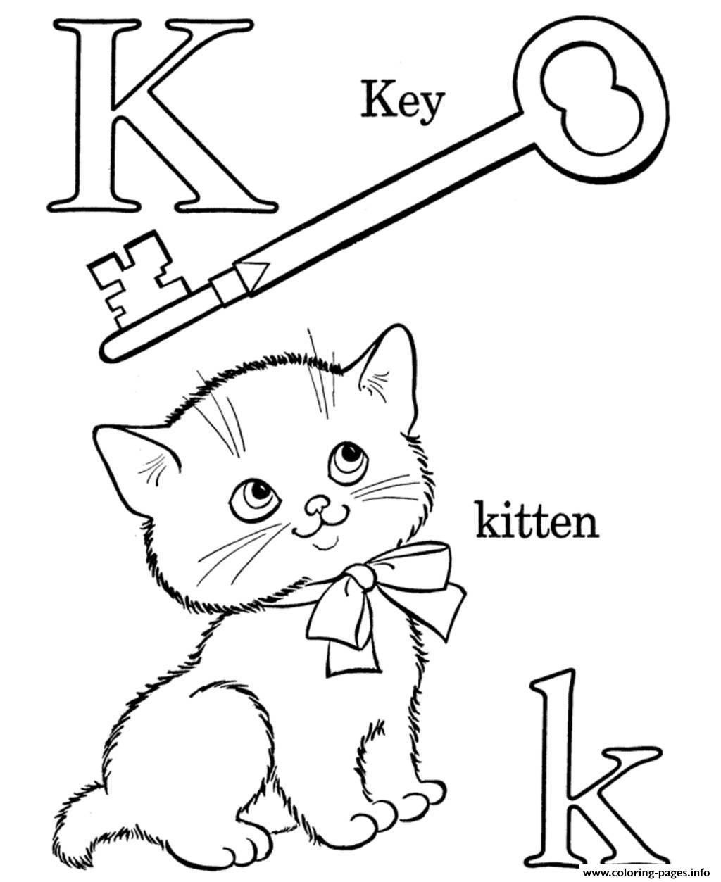 K Words Alphabet S Free541f Coloring Pages Printable