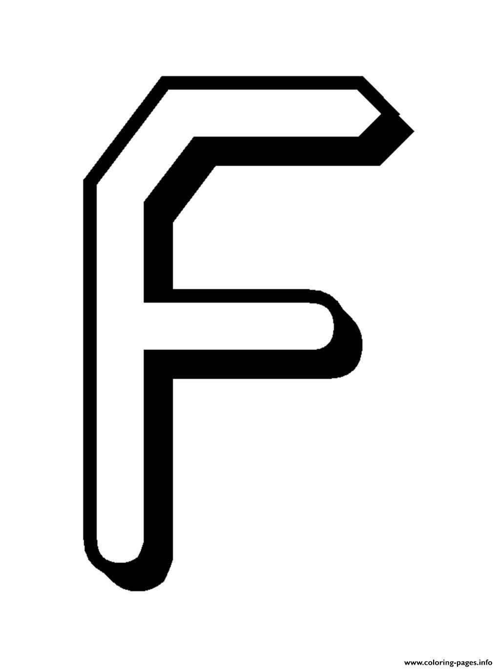 Alphabet S Free Letter F For Kids8a0b Coloring Pages Printable