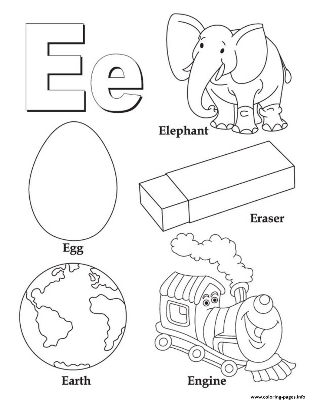 Alphabet S Free Words For Ea3a4 Coloring Pages Printable