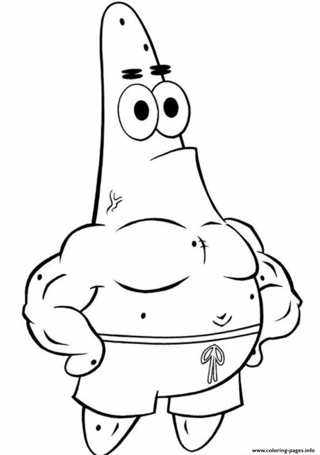Coloring Pages Spongebob Patrick Star26 Coloring Pages Printable
