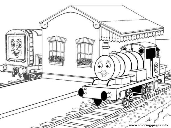 train coloring pages # 56