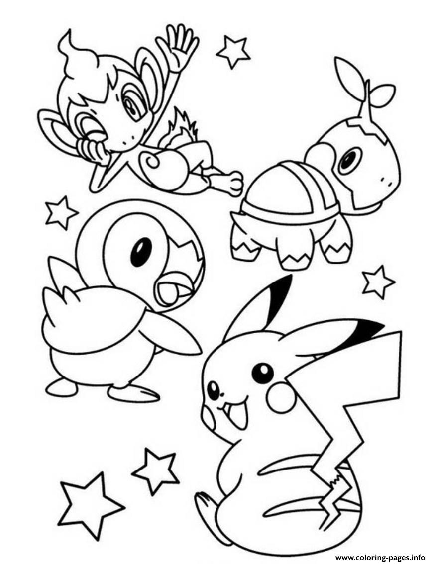 Free Coloring Pages Download Cute Pokemon Pikachu S0e7f Printable Of