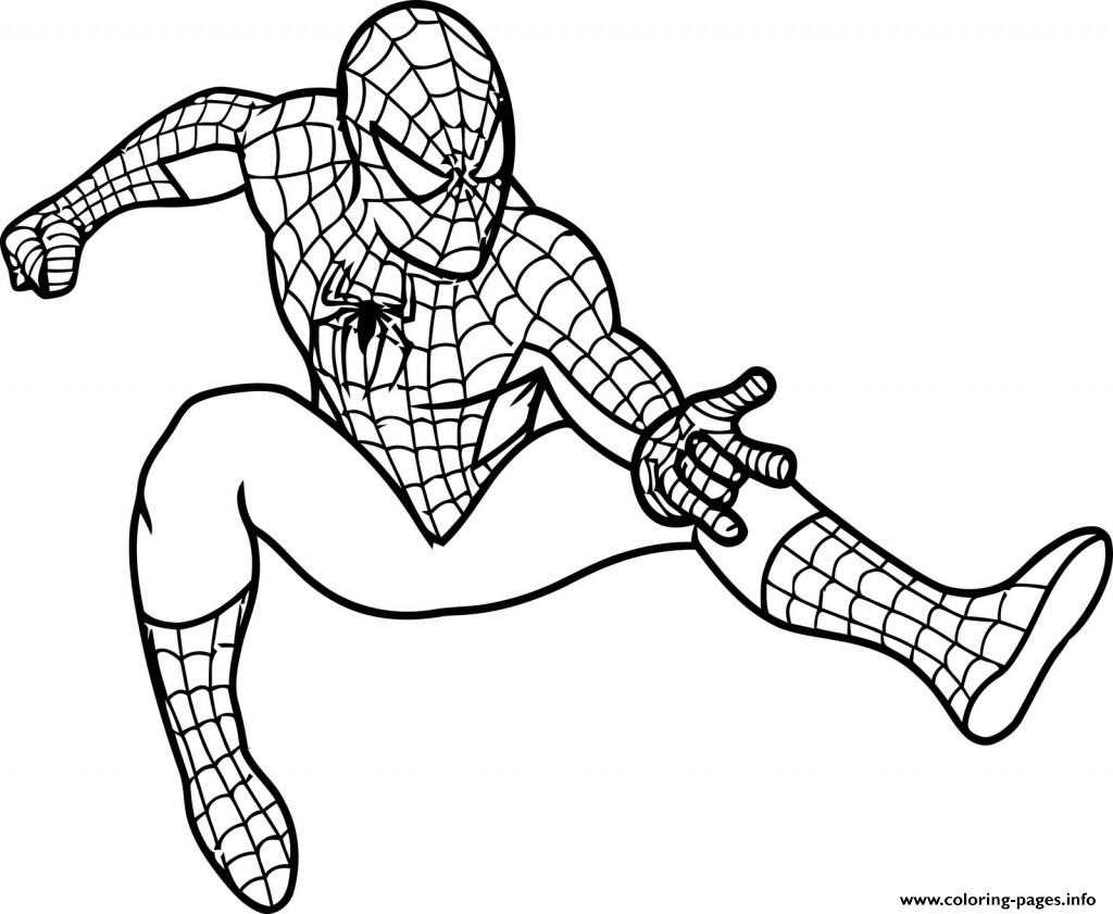 Spiderman Coloring Pages Pdf Coloring Page