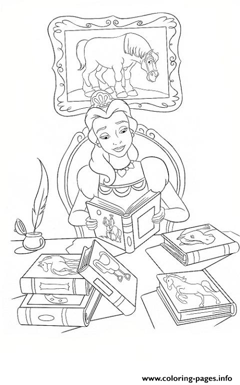 Disney Book Covers Coloring Pages