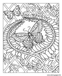 Free coloring pages of adult zen