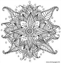 Adult Zen Coloring Book Bears Coloring Pages