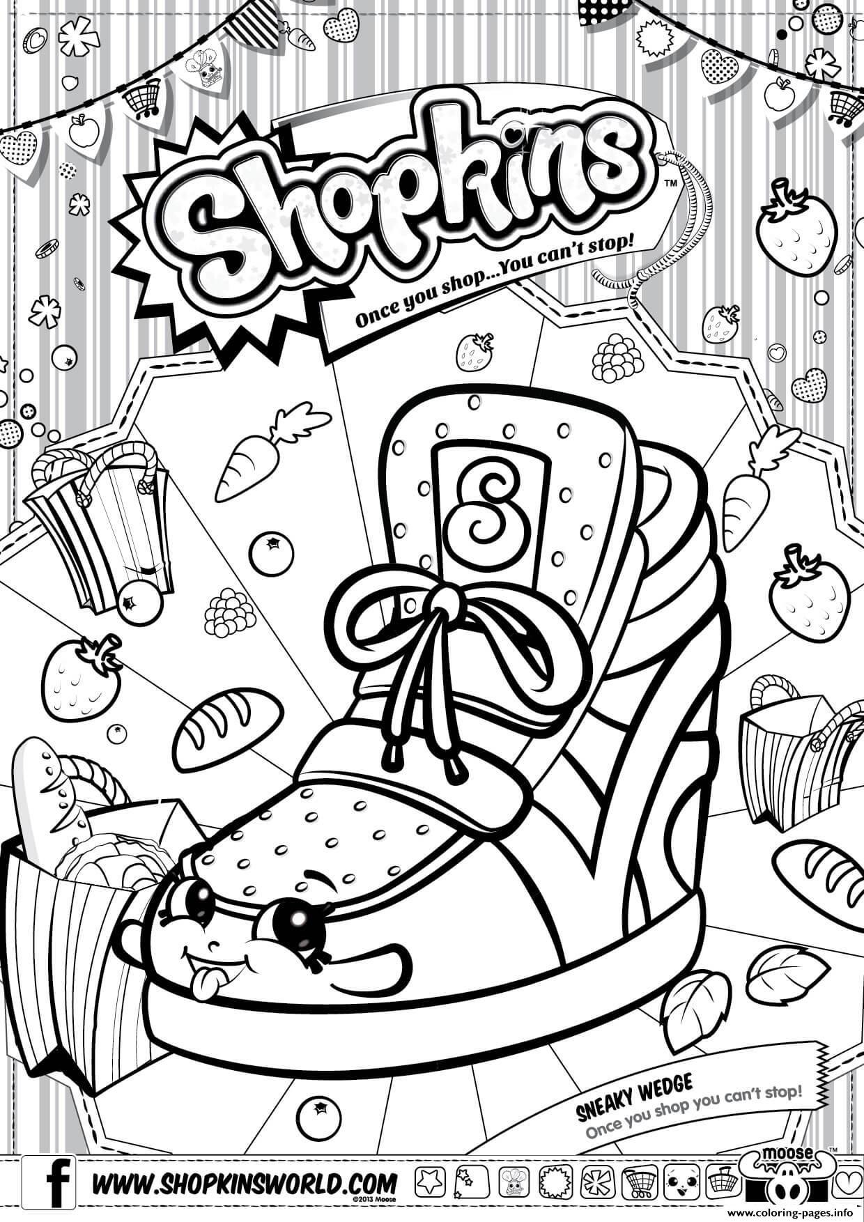 Shopkins Season 3 Coloring Pages Printable