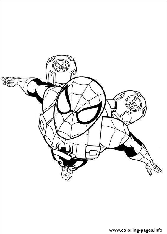 Ultimate Spider Man 2 Coloring Pages Printable