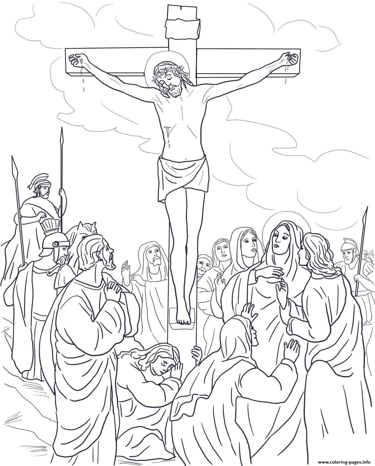 Good Friday 12 Twelfth Station Jesuss On The Cross