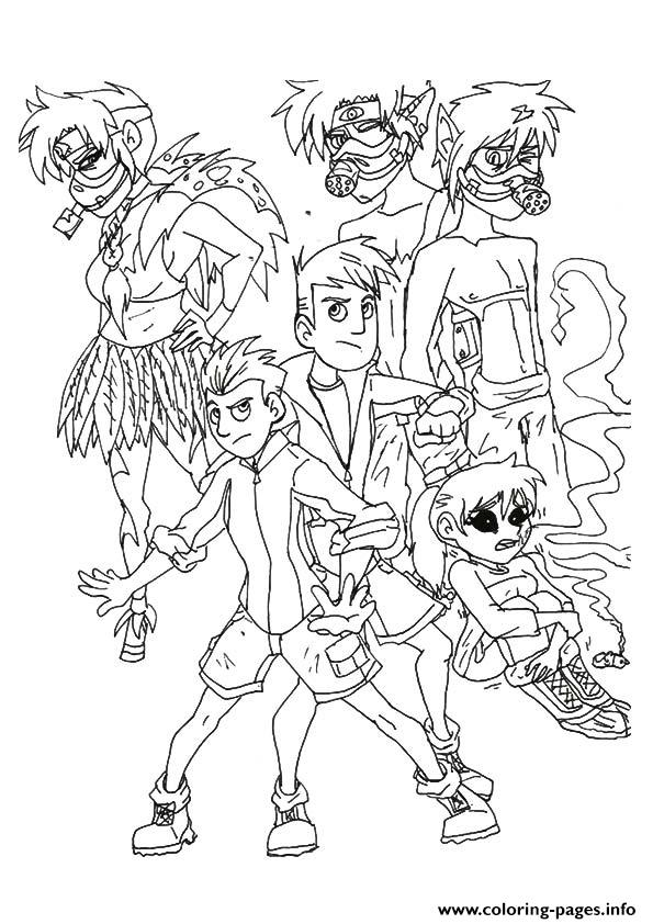 Wild Kratts The Coloring Pages Printable