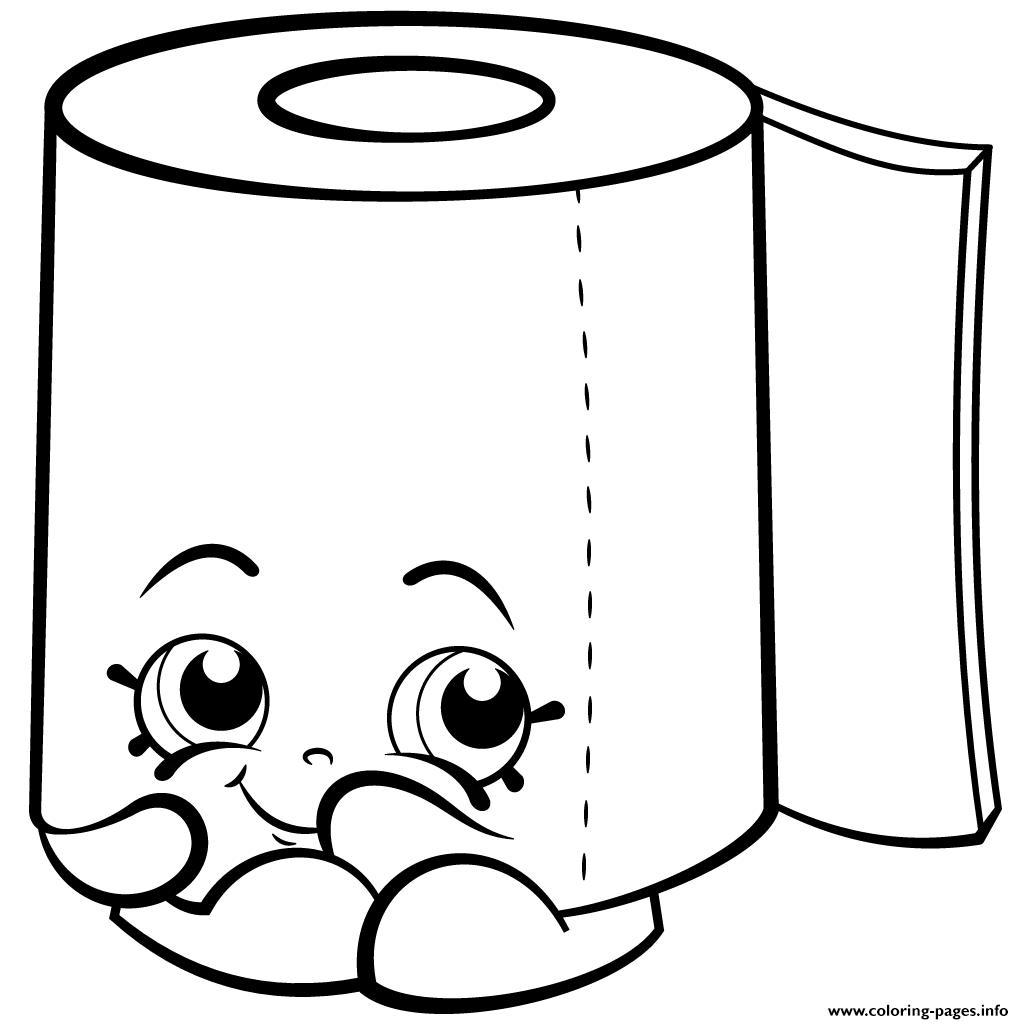 Sweat Leafy Roll Of Toilet Paper Shopkins Season 2