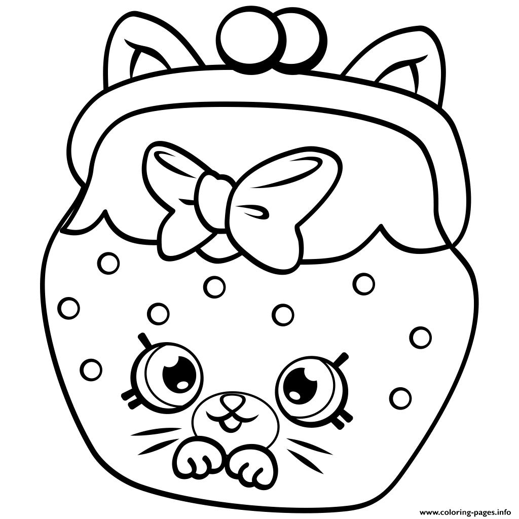 Pe Ins Cat Snout Shopkins Season 4 Coloring Pages Printable