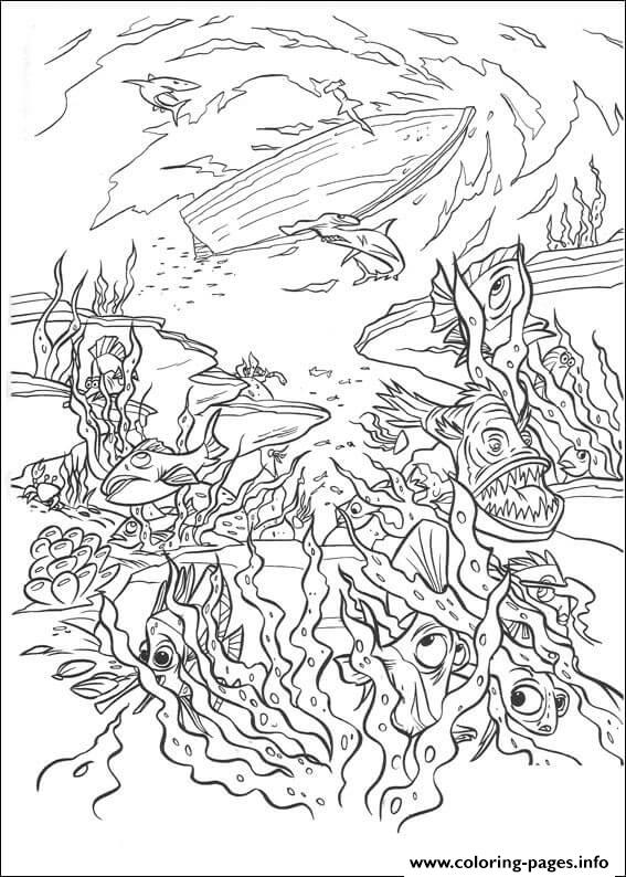 pirates of the caribbean coloring pages # 26
