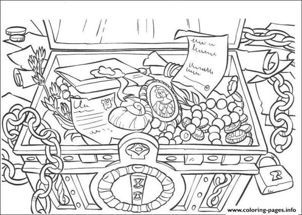 pirates of the caribbean coloring pages # 23