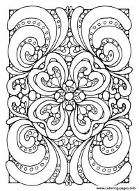 Anti Stress Coloring Book 5 Below Coloring Pages