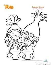 Troll Coloring Page Printable Coloring Pages