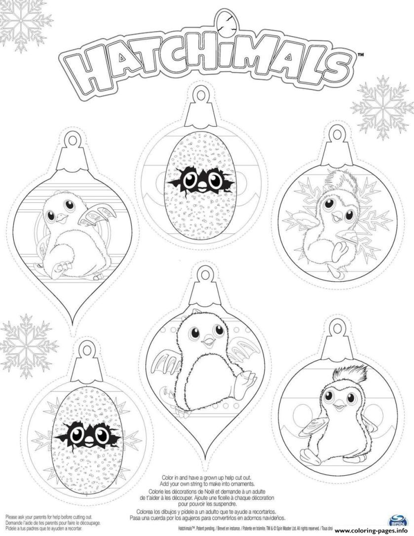 hatchy hatchimals penguala draggles coloring pages printable