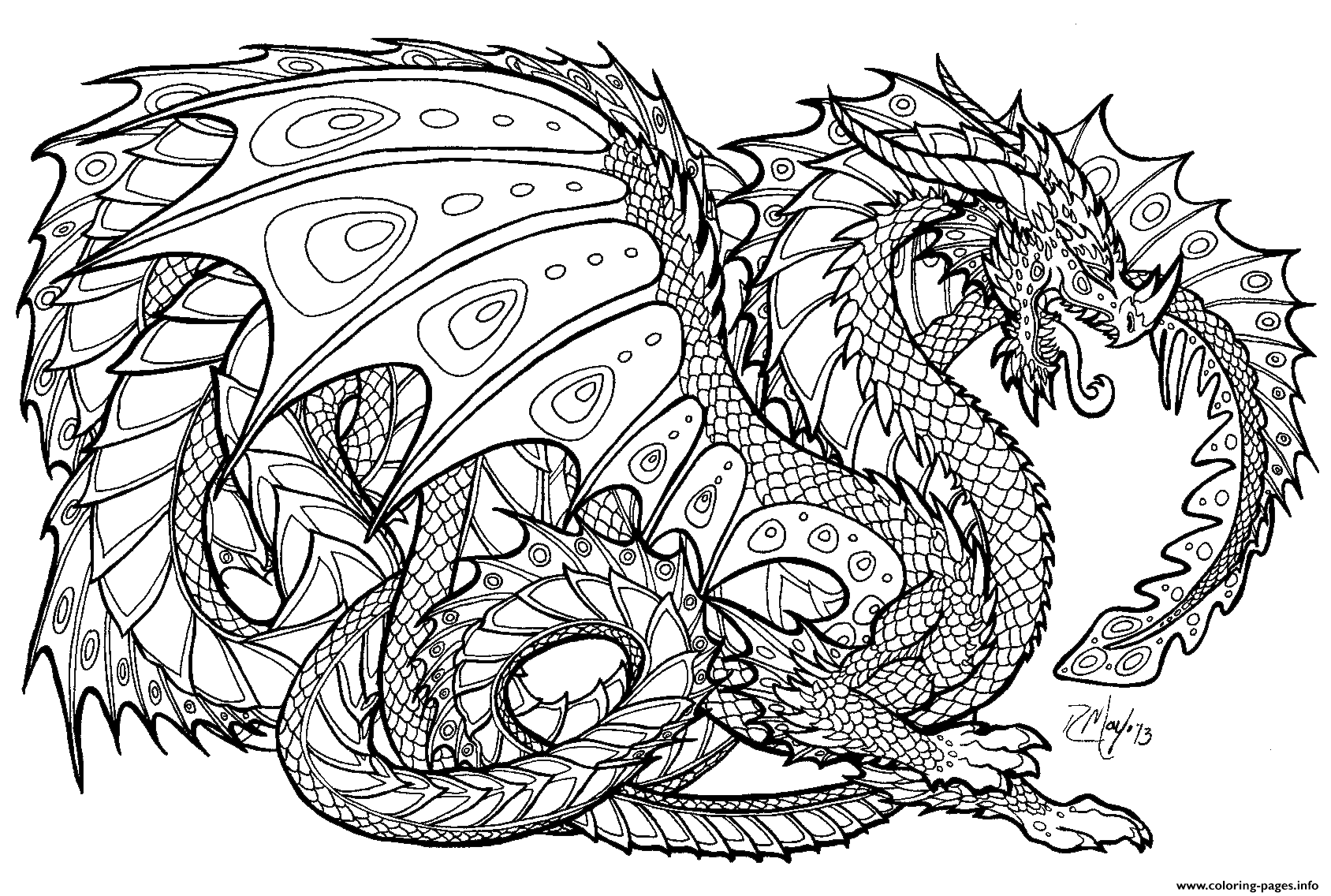 63 Top Cat Dragon Coloring Pages Download Free Images