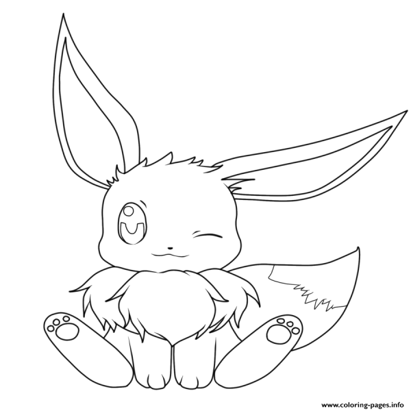 Pokemon Kleurplaten Glaceon.20 Pokemon Eevee Evolutions Coloring Pages Cut Outs Ideas