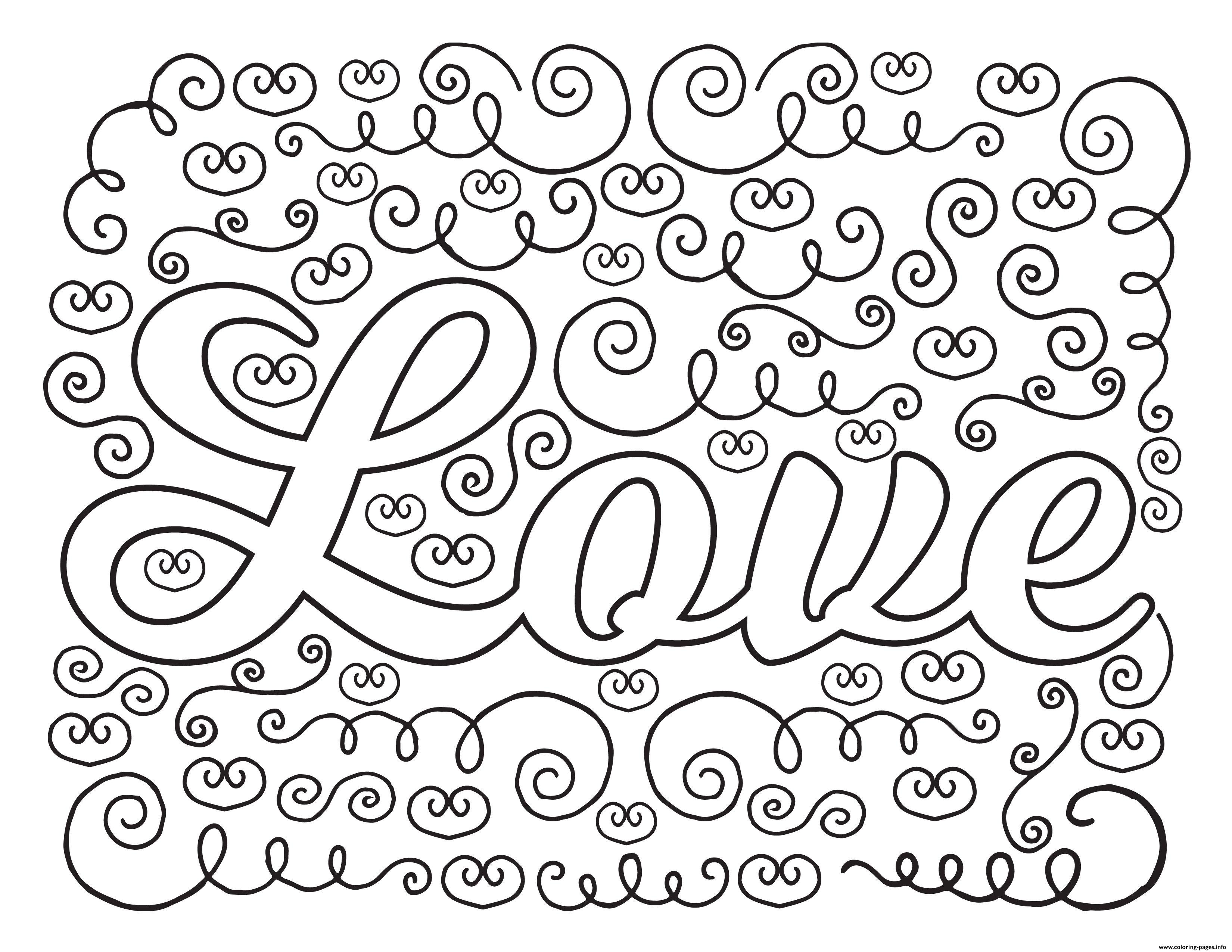 Love Adult Valentines Coloring Pages Printable