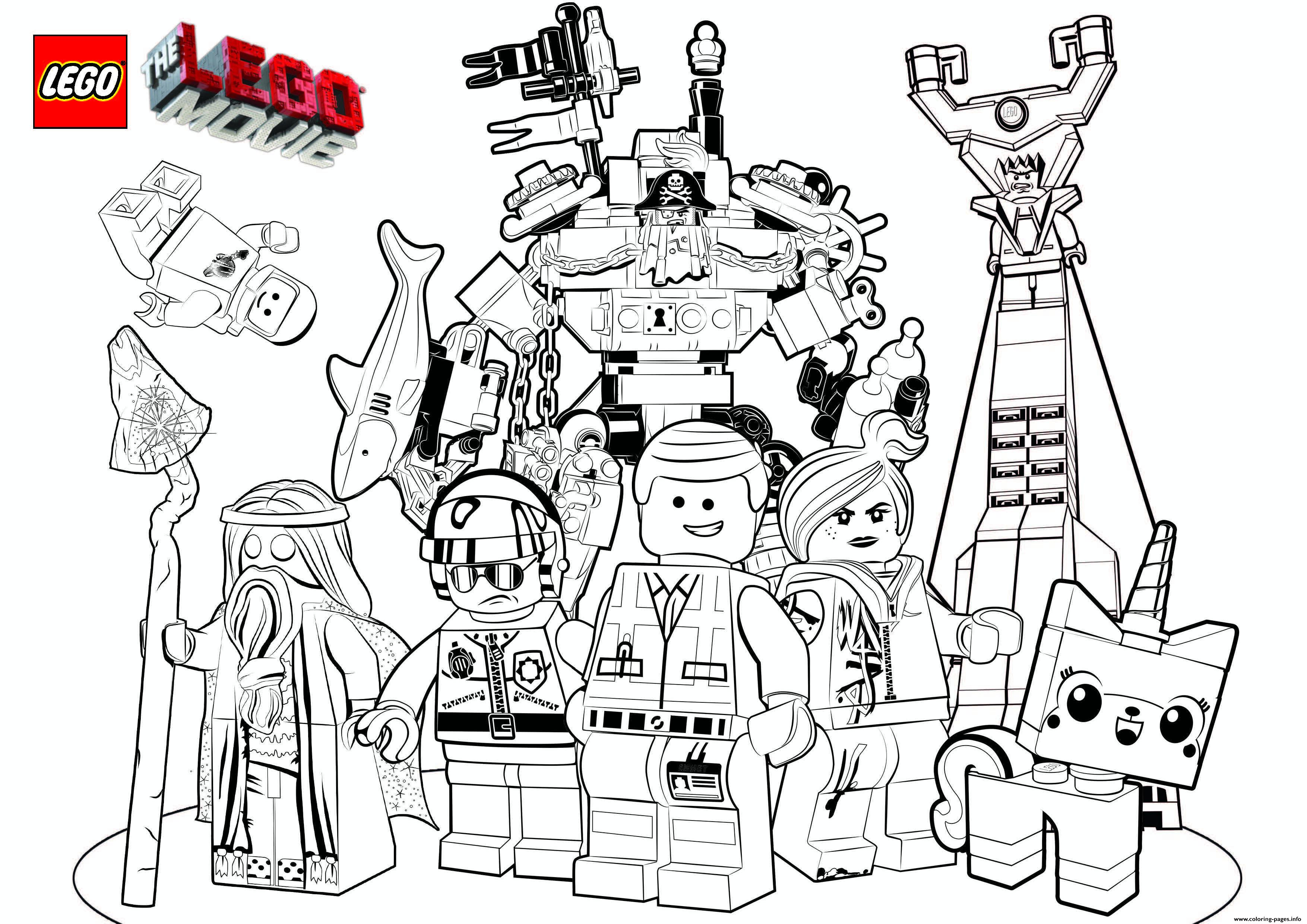 Lego Marvel Coloring Pages Free Printable