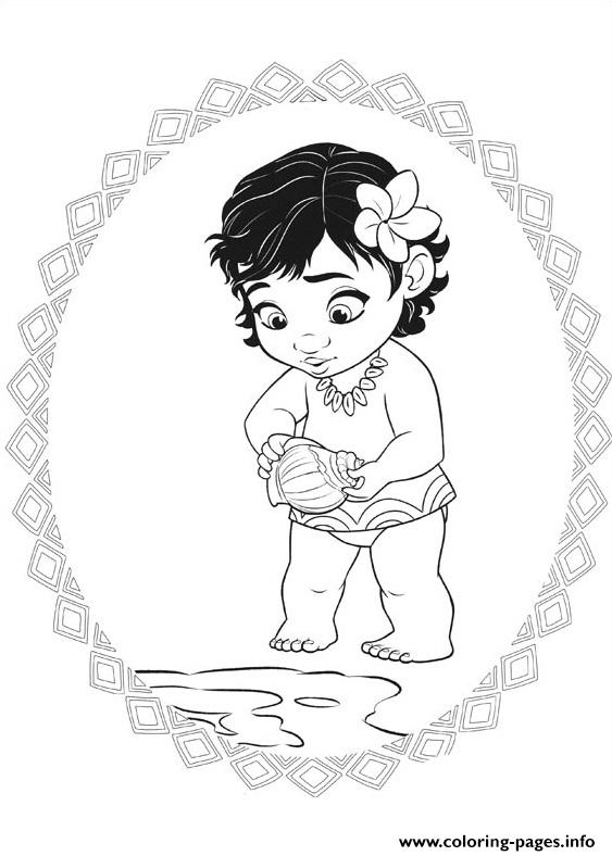 baby princess coloring pages # 8