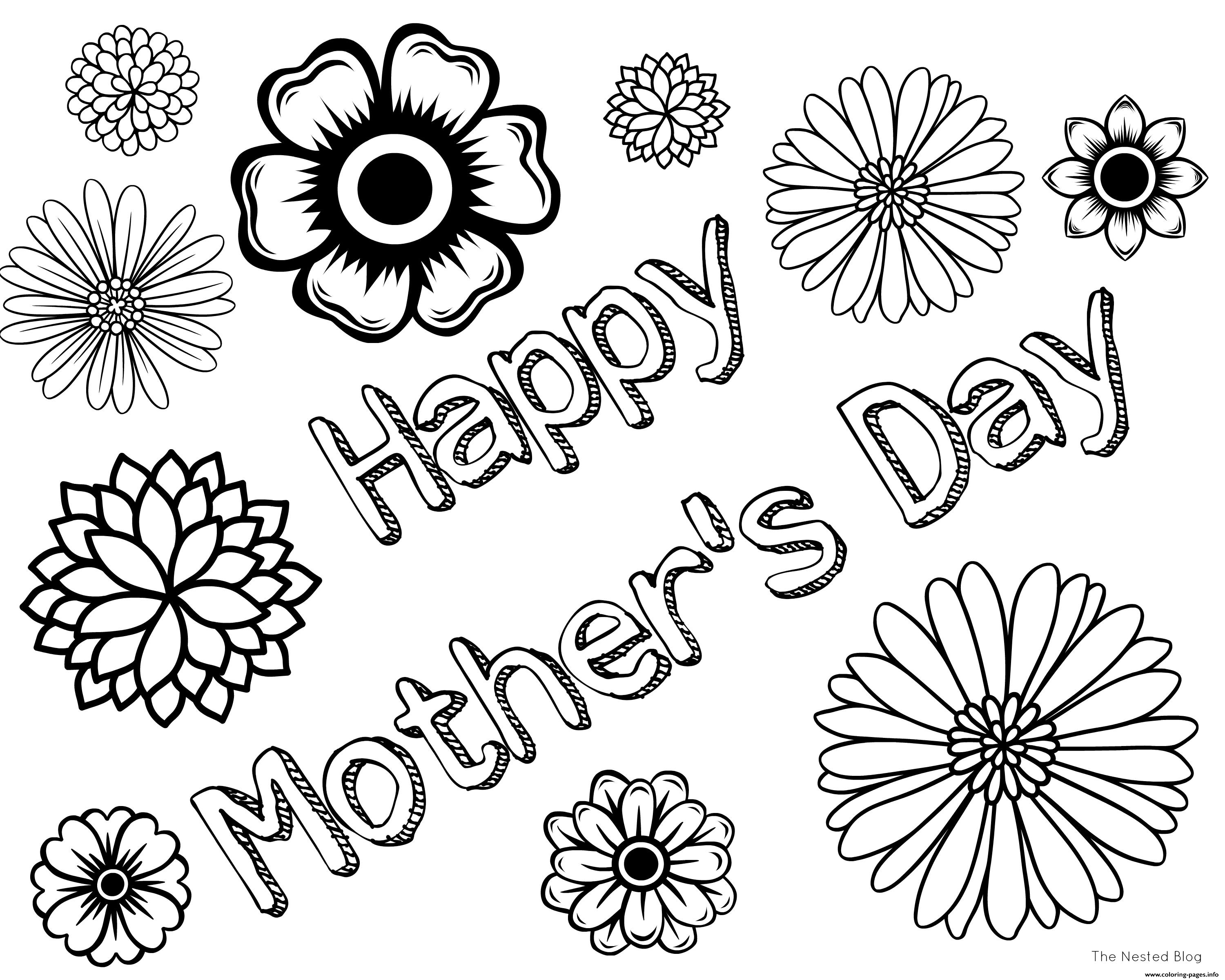 csp47005 mothers day drawing - HD3000×2400