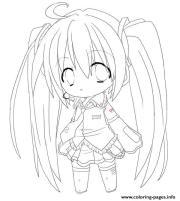 chibi anime girl print 6204
