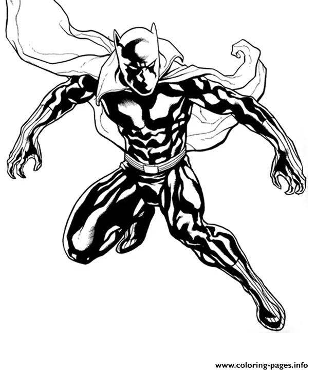 Black Panther Coloring Pages To Download And Print For Free