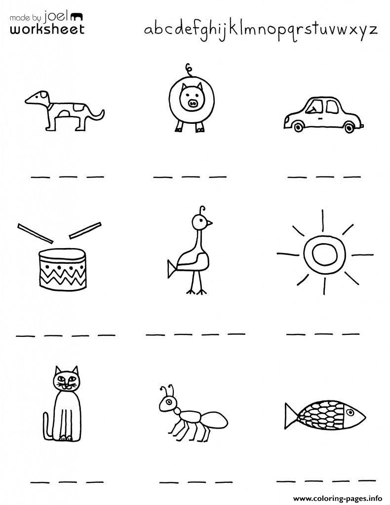 medium resolution of Kindergarten Worksheets Preschool Worksheets Printables For Kids Coloring  Pages Printable