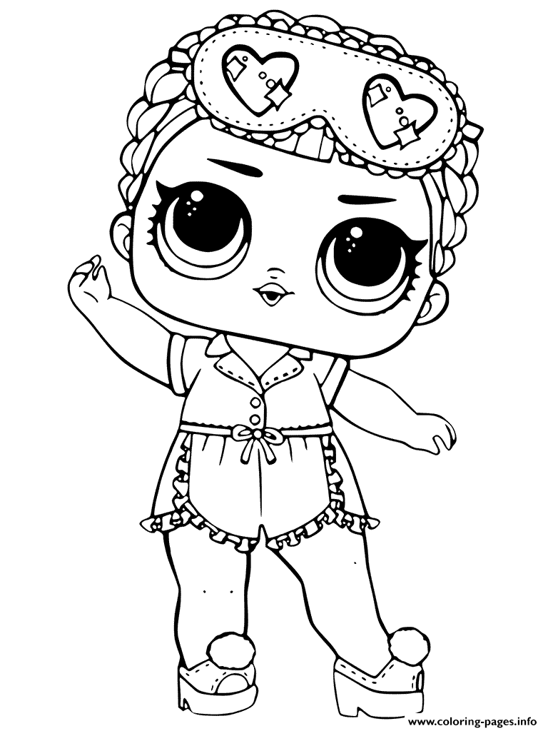 Free Coloring Pages Download : Lol Dolls Coloring Pages Printable Of Doll  Coloring Pages On Xsibe
