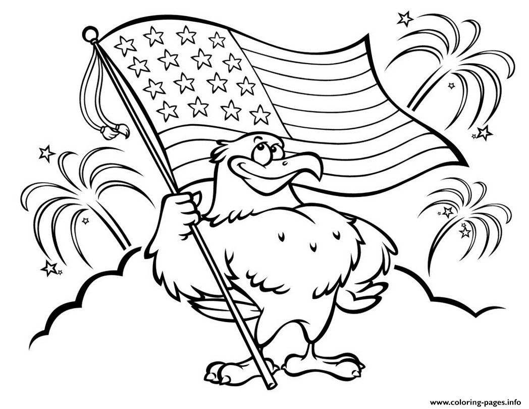 Disney 4th Of July Patriotic Coloring Pages Printable