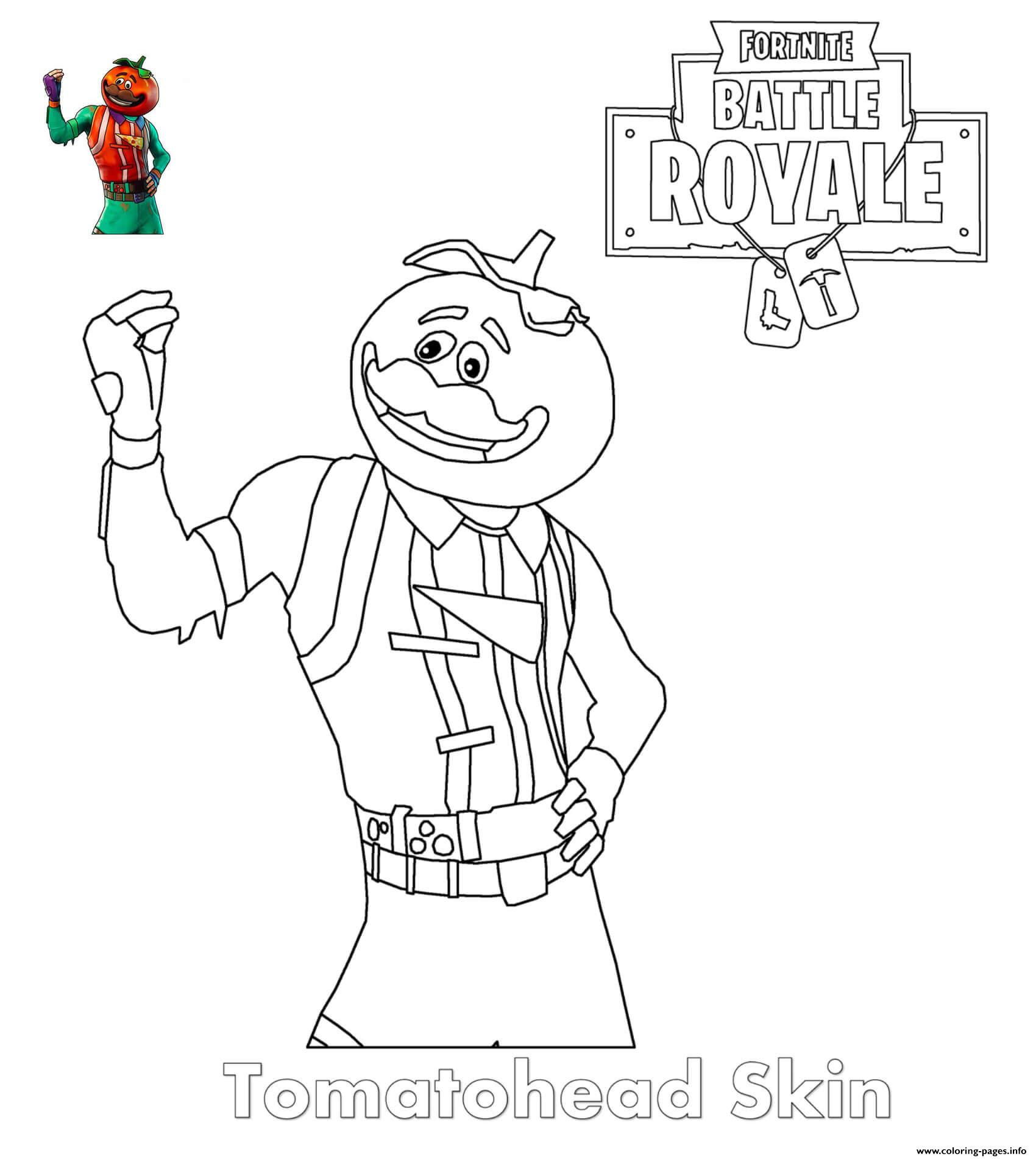 Fortnite Coloring Pages Season 11 Skins