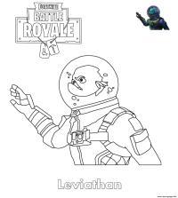 Dibujo 1 De Fortnite Para Colorear