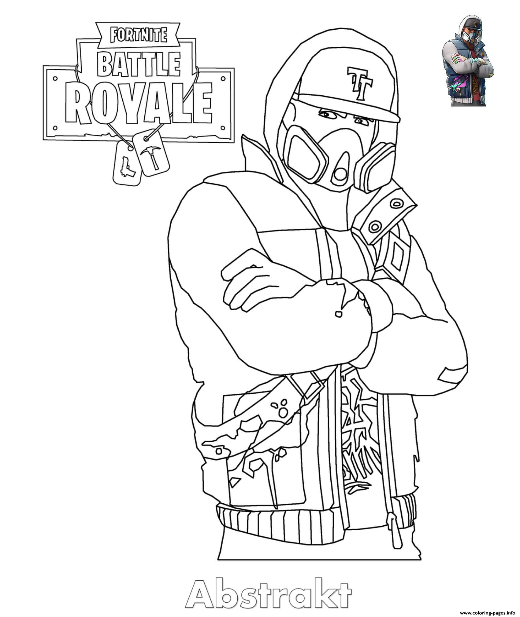 Disegni Da Colorare Fortnite Season 8 Colorarest