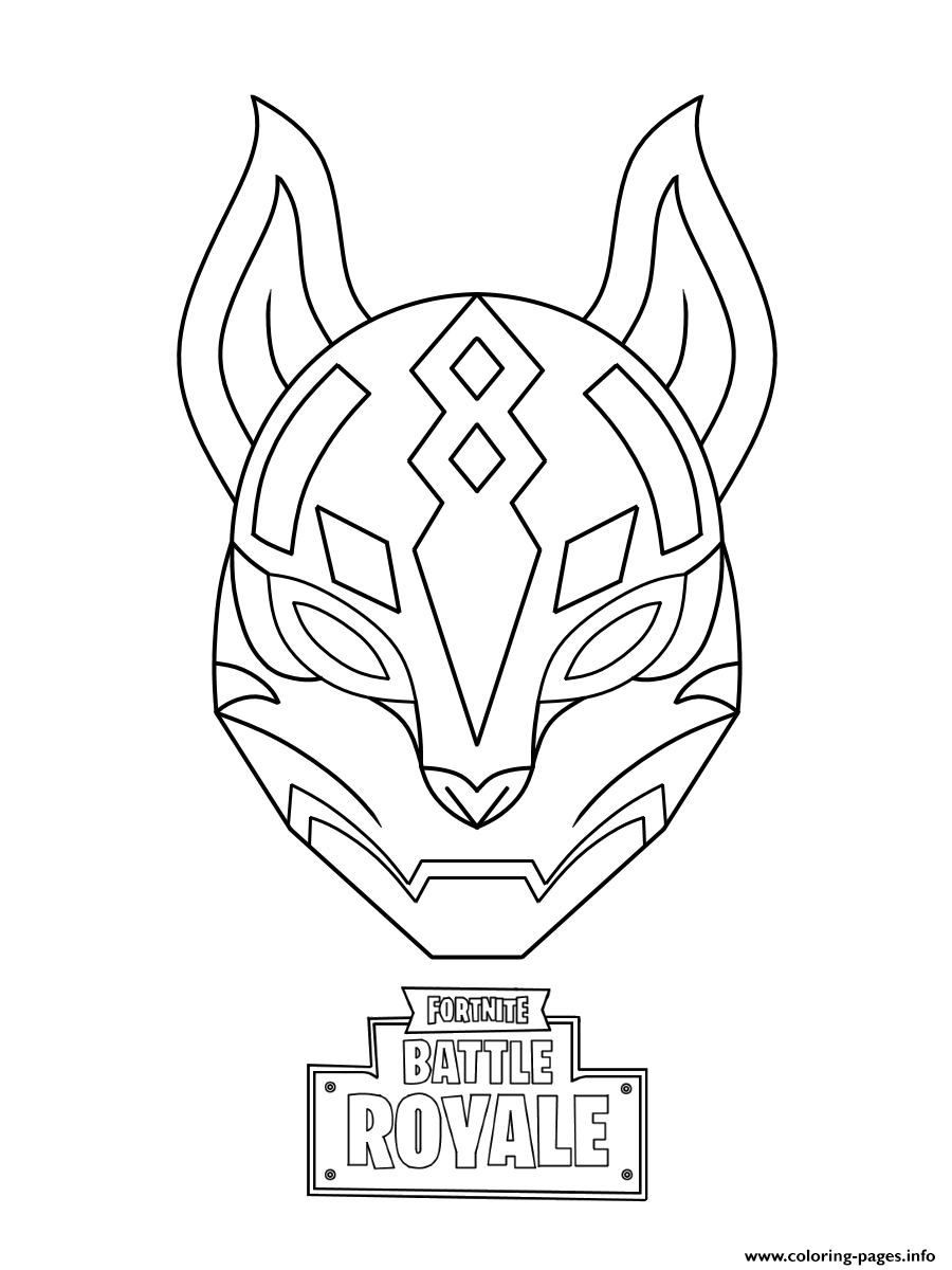 Drift From Fortnite Coloring Pages Auto Electrical