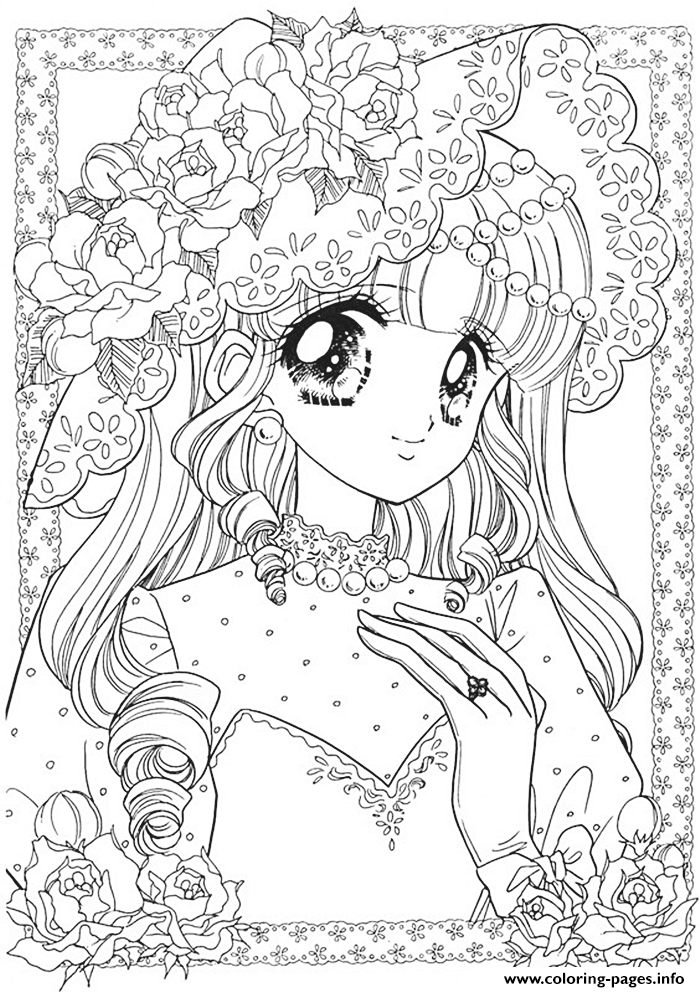 Glitter force cute girl coloring pages printable, girl coloring pages