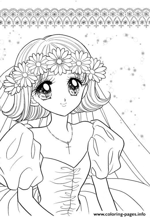 Glitter Force Happy Paradise For Girls Coloring Pages
