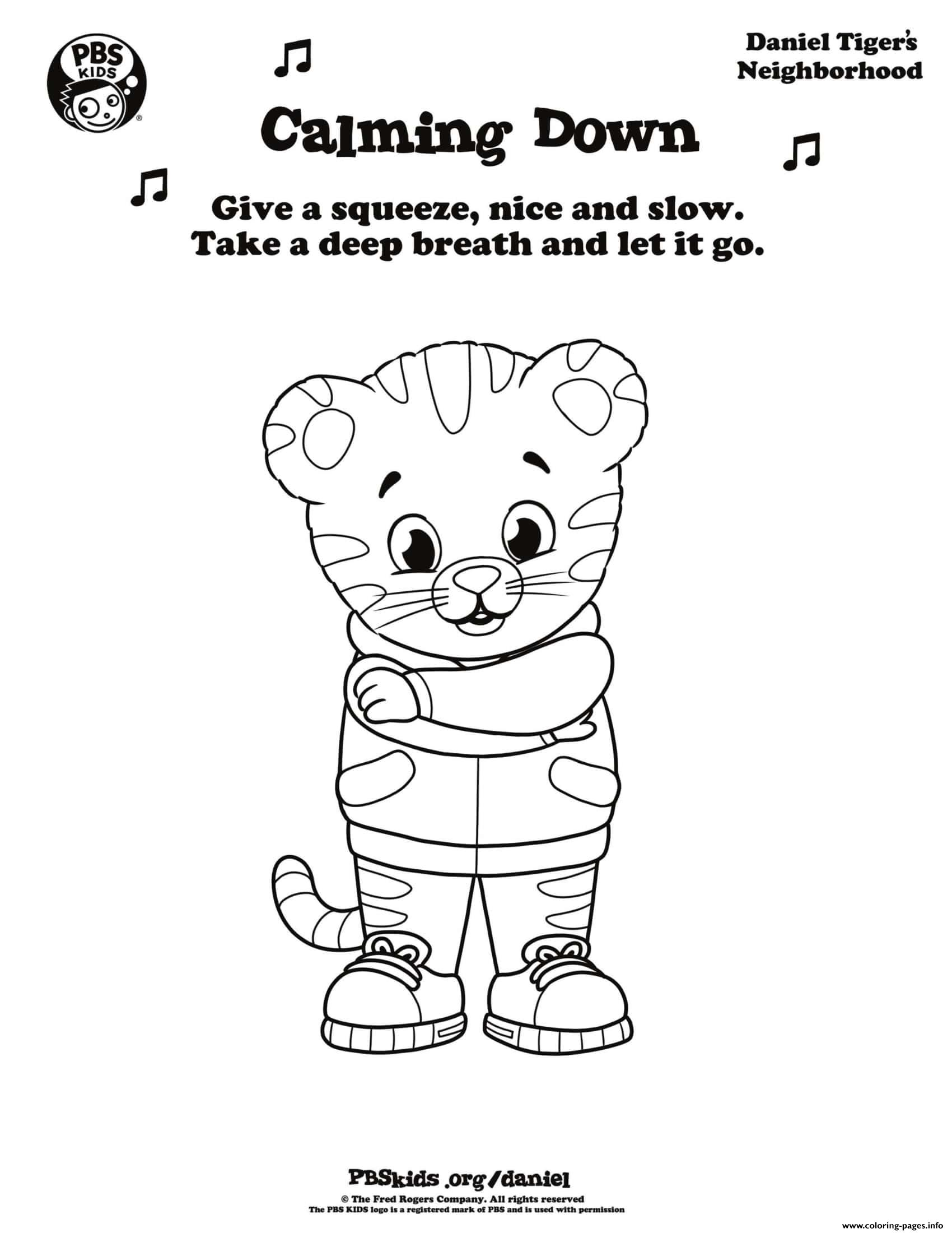 Daniel Tiger Coloring Pages Printable That Are Dramatic