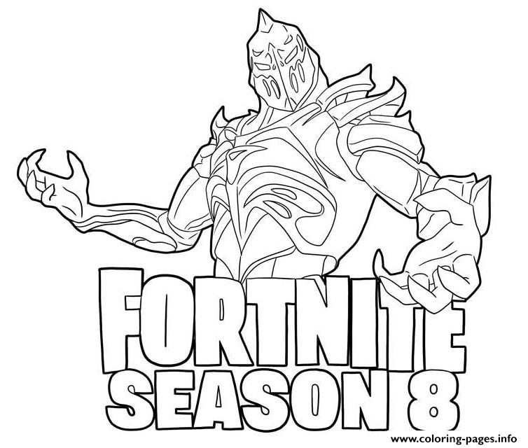 Pages Dire Coloring Fortnite