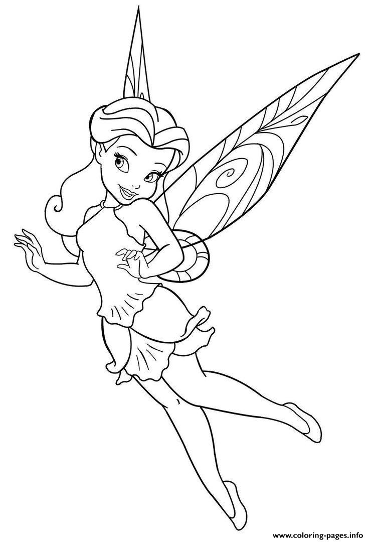 Disney Fairy Coloring Pages Printable