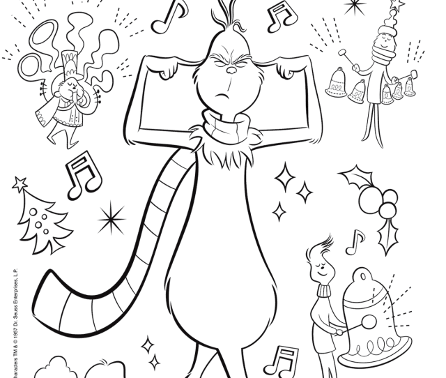 Illumination The Grinch Coloring Pages Printable