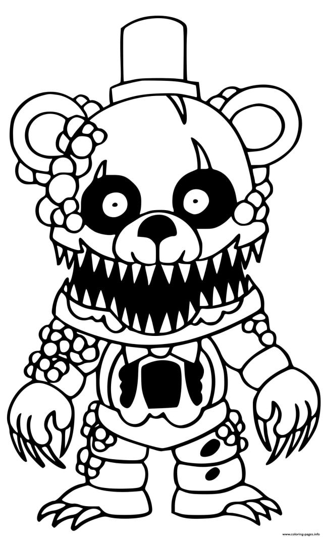 Freddy Coloring Pages Printable