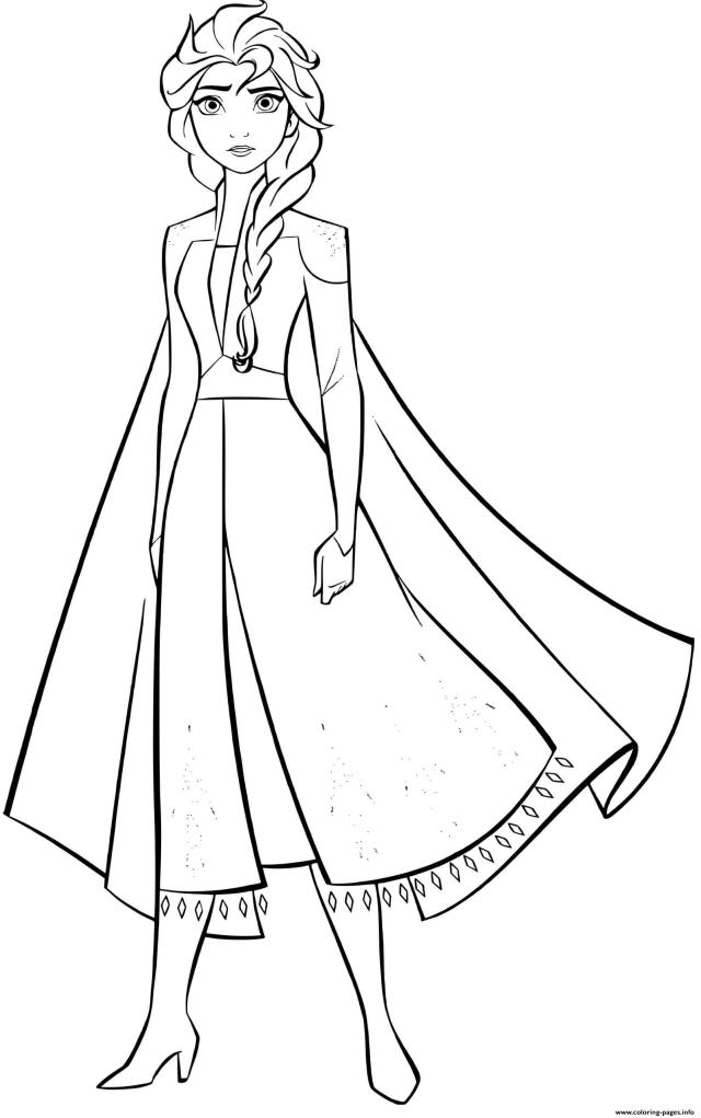 Elsa Frozen 30 Strong Woman Coloring Pages Printable