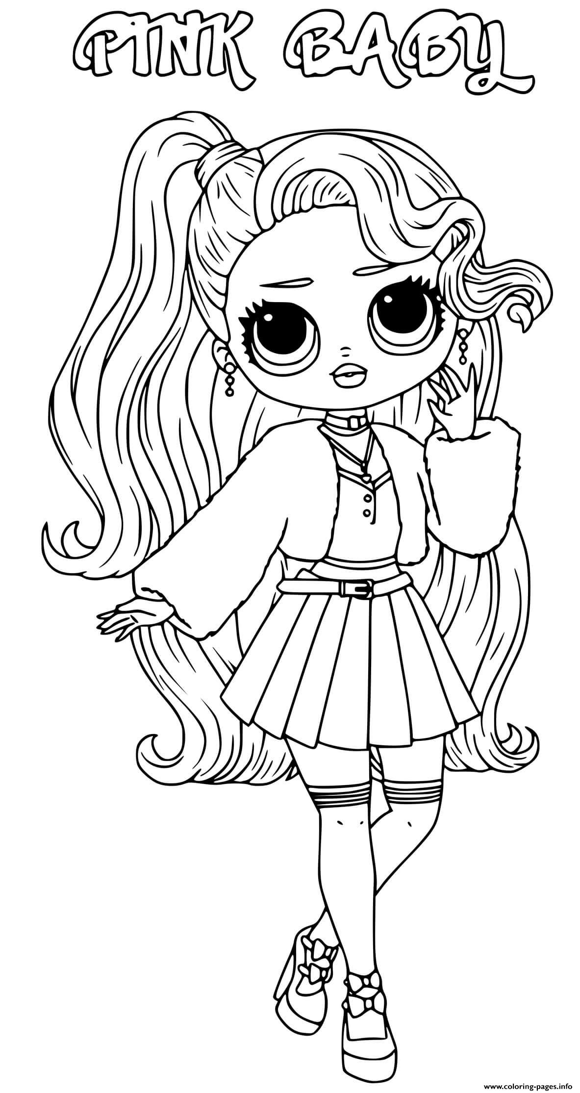 Lol Omg Coloring Pages Printable : coloring, pages, printable, Coloring, Pages, Printable