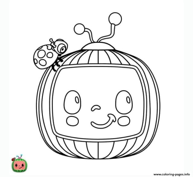 Cocomelon Coloring Pages Printable